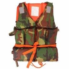 kids Adult Swimming Life Jacket Vest Foam Boating Ski Fishing Drifting Safety Jackets Colete Salva Vidas With Whistle Prevention
