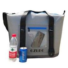 Новый 20can и 30can серый сумка-холодильник мягкой упаковке Открытый мешок льда