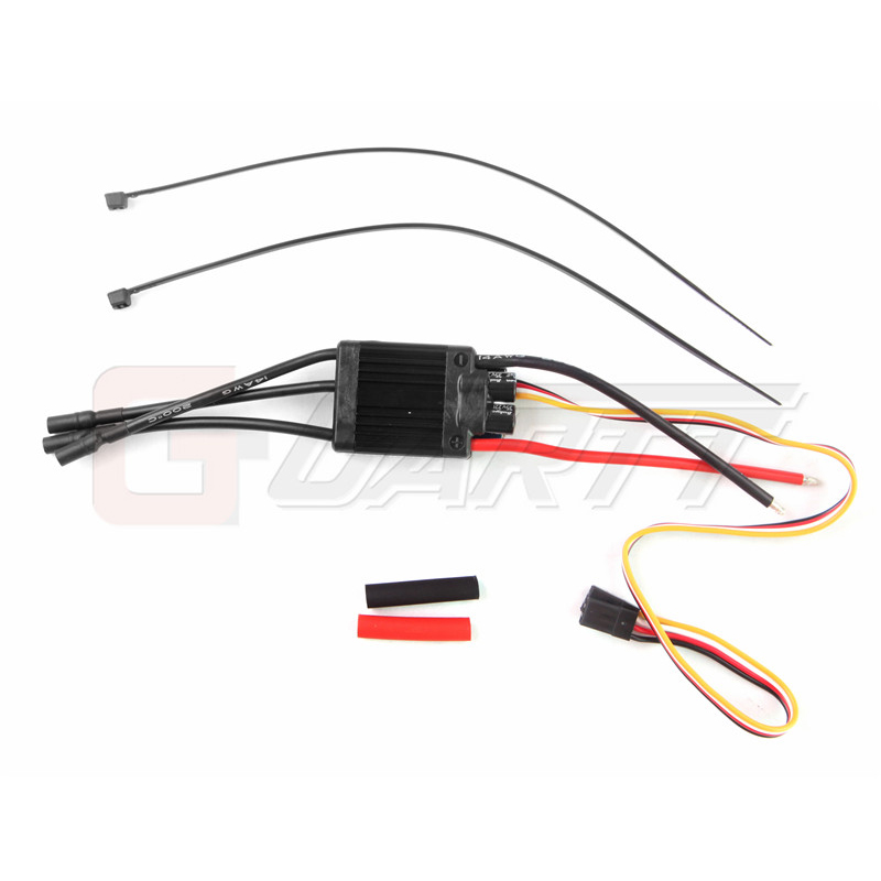 Freeshipping HobbyWing Platinum 60A V4 3-6S Brushless ESC For 450-480 RC Heli Multicopter hobbywing platinum 40a v4 esc 3 4s lipo25a v4 3 6s lipo platinum brushless esc speed controller for rc drone 450 480