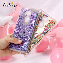 Dynamic Liquid Quicksand Cases For Sony Xperia XA1 XA2 Ultra Case Mirror Silicone Back Cover Nokia 8 6 3 Bumper Funda Capa