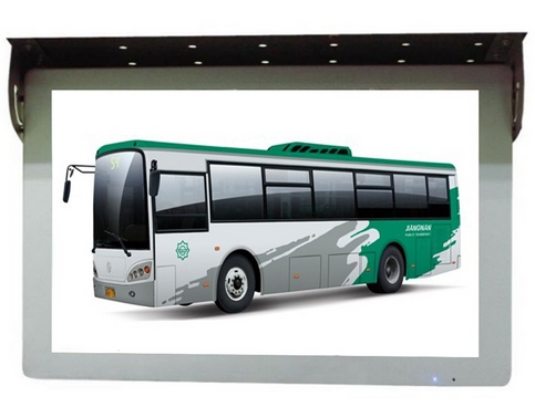 OEM 17 19 22inch Bus Advertising LED Lcd Tft Hd Displays Remote Control Retail Full Hd Bus Digital Signage Screen
