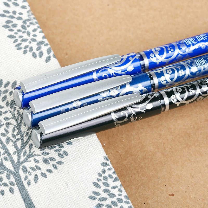 Sihirli silinebilir jel kalem Unisex 0.5mm mavi siyah kırmızı mürekkep kalemler yazma kırtasiye ofis okul malzemeleri