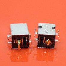 Cltgxdd 100 pçs 2.5mm dc power jack pino dourado para asus k52jr a52 a53 k52 k53 u52 x52 x53 x54 pj033 a43 x43 a53 a53s u30 portátil
