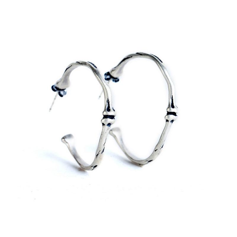 1 Pair Unisex Personality Large Rib Earrings Hyperbole Gothic Bone Earring Men Women Jewelry Gift Dropshipping