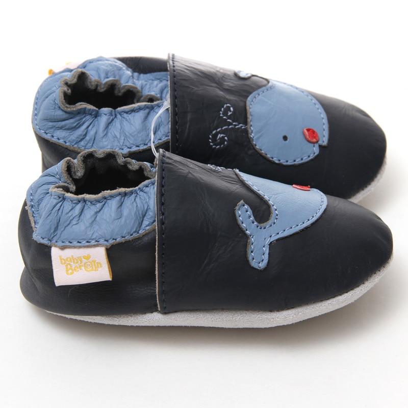 Leder Babyschuhe junge Baby Mokassins Tier Kinder Kleinkind Schuhe - Babyschuhe - Foto 3