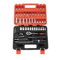 53pcs/set Car Repair Tool Ratchet Set Ratchet Wrench Sleeve Set Kit for Car Bicycle Hardware Repair Tools Repairing Hand Wrench