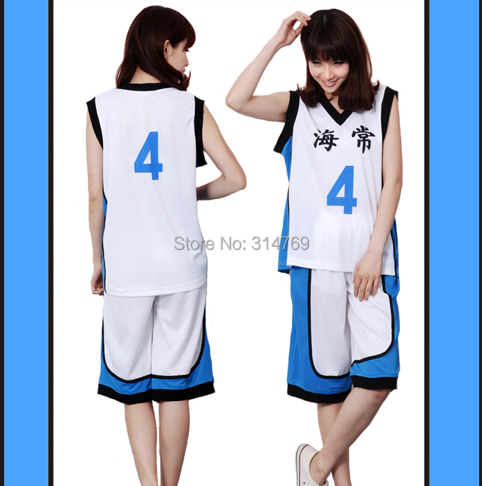 Japan Anime Kuroko no Basuke Cosplay Costumes Kise Ryota School Uniforms  Wear Cos Set