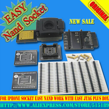 цена на 2019 latest version Easy-nand EASY NAND socket for iphone socket Easy NAND work with EASY JTAG plus box