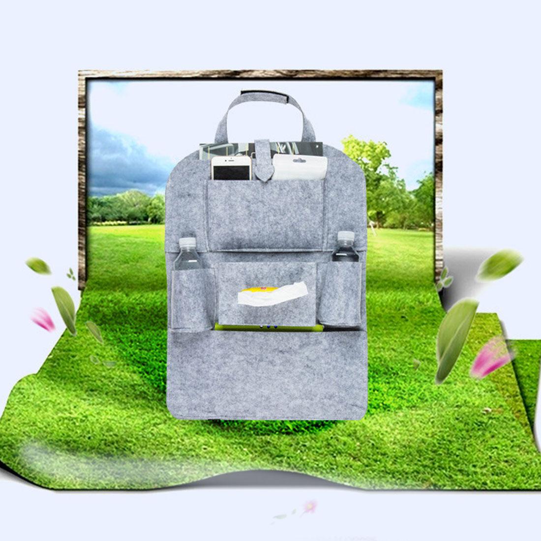 Dewtreetali hot sale Car Storage Bag Organizer Back Seat Universal Bags Backseat Trunk Travel Holder Box Pockets Protector