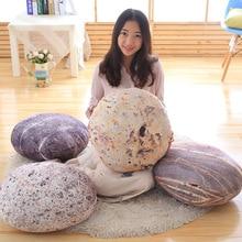 45cm Creative simulation stone plush doll toy toys soft stone cloth cushion pillow home Home decoration