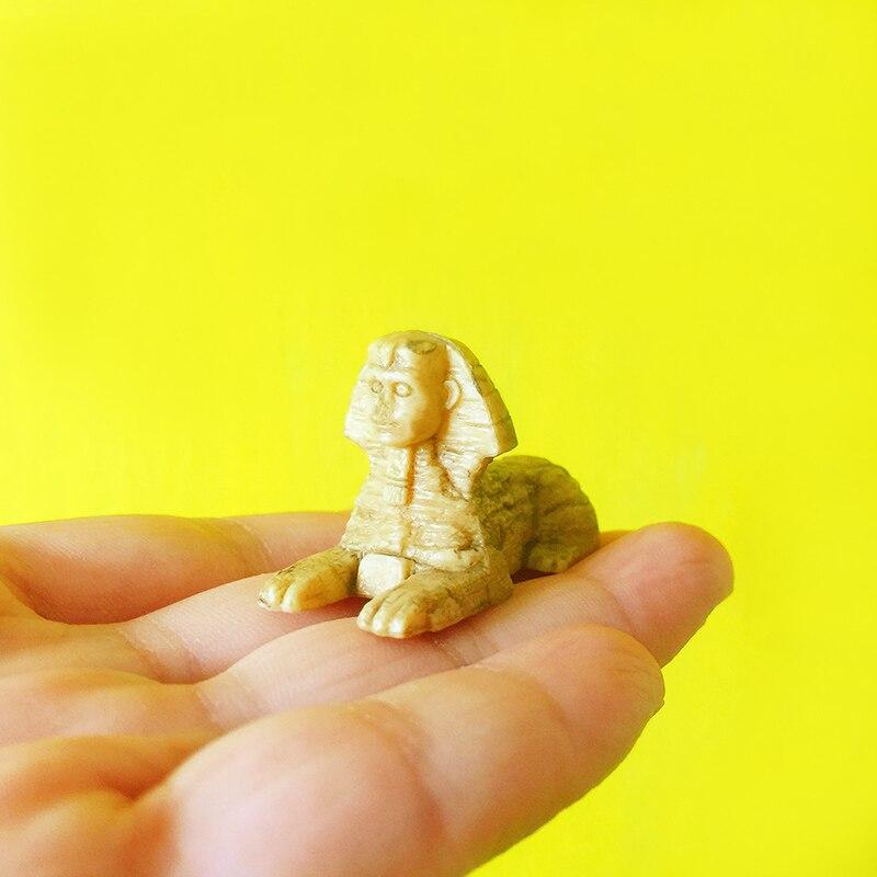 Figuren & Miniaturen Haus & Garten Verkauf ~ 1 Pcs Sphinx/fee Garten Gnome/moos Terrarium Home Decor/handwerk/bonsai/flasche Garten/miniaturen/spielzeug/modell