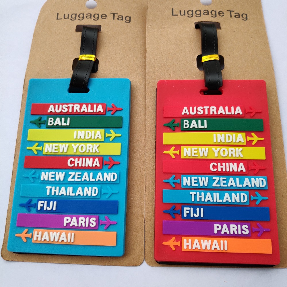 NB UUD Netherlands Flag Travel Luggage Tag Printed Employees Card Luggage Tag Holders Travel ID Identification Labels for Baggage Suitcases Bags