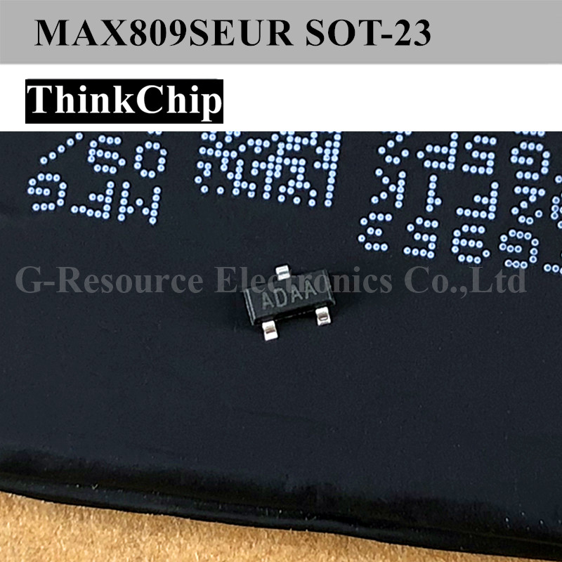 (20 Pcs) MAX809SEUR MAX809 SOT-23 SMD MCU Monitor IC (Marking ADAA)