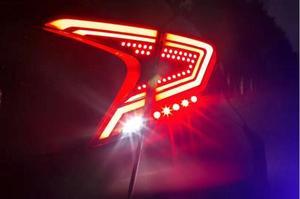 Image 4 - Pare chocs feu arrière pour 2017 2018 2019 année Toyota CHR C HR C HR feu arrière feu arrière DRL + frein + parc + feux de signalisation accessoires de voiture