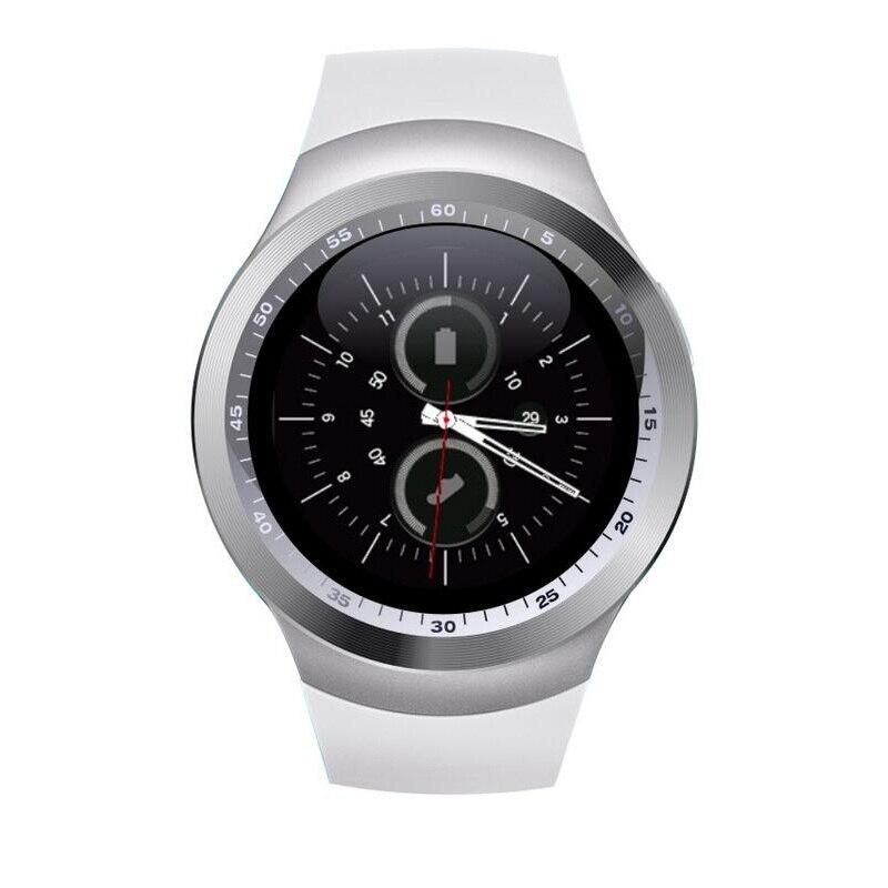 imágenes para Y1 smart watch apoyo nano tarjeta sim y tarjeta de tf Smartwatch Smartwatch Con Whatsapp Facebook Y Aptitud Para IOS Android teléfono