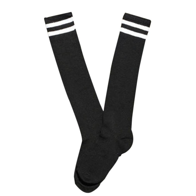 chaude enfants sport football longues chaussettes haute chaussette baseball hockey chaussettes. Black Bedroom Furniture Sets. Home Design Ideas