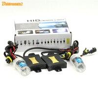 Buildreamen2 55วัตต์880 881ซีนอนบัลลาสต์เปลี่ยนหลอดไฟHIDชุด4300พัน-15000พันไฟหน้ารถกลางวันวิ่งไฟตัดหมอ