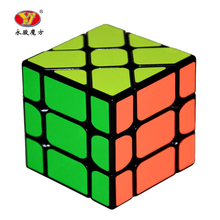YongJun YJ Speed 3X3X3 Fisher Cube Magic Cubes Speed Puzzle Learning Educational Toys For Children Kids