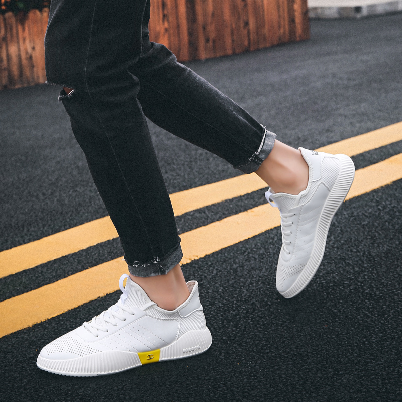 2019 fashion classic shoes men 39 s shoes Flyweather comfortable breathable non leather casual love light shoes in Men 39 s Casual Shoes from Shoes