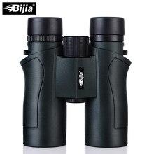 Sale BIJIA 10×42 Binoculars Military HD High Power Telescope Professional Hunting Outdoor Sport Travel Scope Army Green