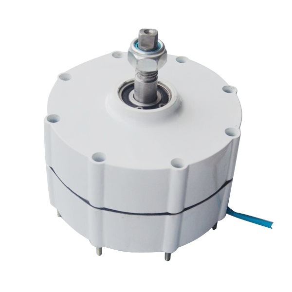 Small Permanent Magnet Generator 600W 12v 24v 48vAC with Aluminium alloy casting and Stainless shaft