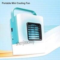Ventilador de refrigeración Personal portátil Mini aire acondicionado miniatura ventilador de aire acondicionado con USB 1 unidad