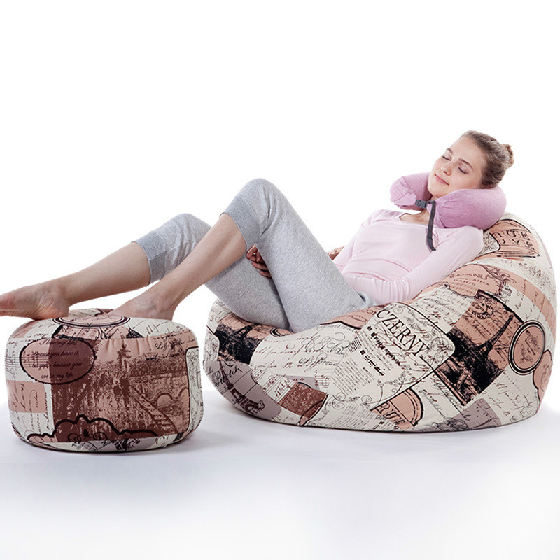 US $110.1 20% OFF|large size tatami beanbag bean chair bean bag sofa size  90*110cm with footstool-in Bean Bag Sofas from Furniture on Aliexpress.com  | ...