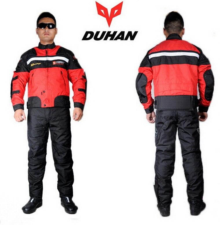 DUHAN moto veste de costume de course pantalon hiver chaud moto rcycle vêtements d'équitation costumes moto rbike vestes pantalons vêtements D-020 et DK-09 - 5