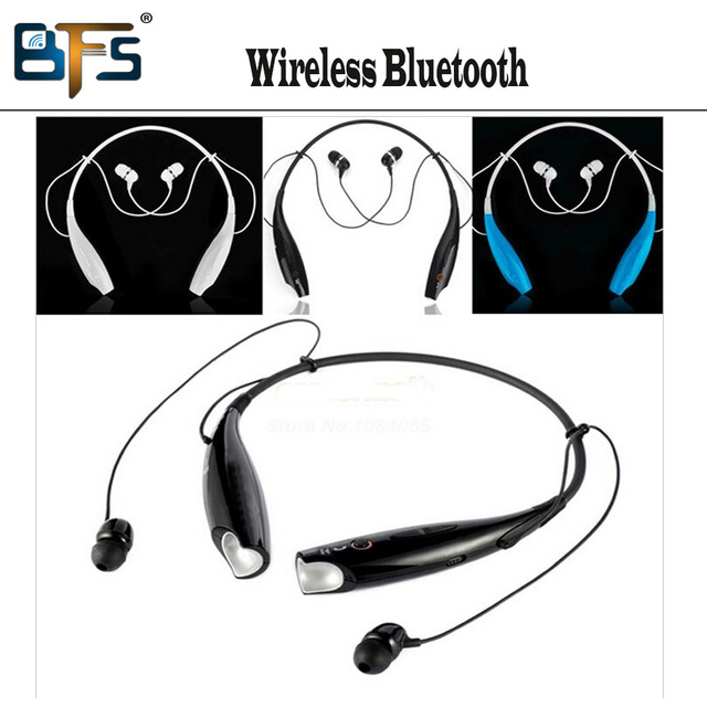 HV-800 Wireless Bluetooth Stereo Music Headset hv 800 Universal Neckband Bluetooth Headset headphone for LG iphone cellphones