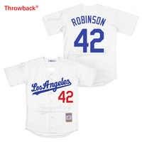 Camiseta de béisbol de la película de Los Angeles Jersey de Los hombres