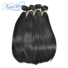 Peruvian Straight Virgin Human Hair 4 Bundles Thick Extension 100 Unprocessed Natural Color Raw Hair Weaving