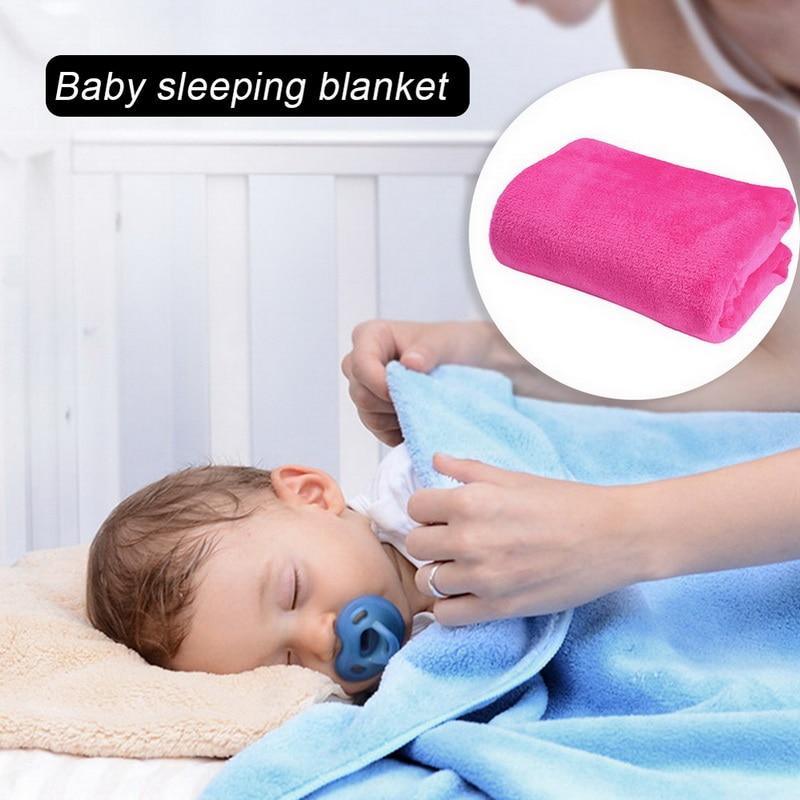 Urijk супер теплое однотонное Флисовое одеяло 70x100 см из микроплюша, детские одеяла для сна, диванные одеяла, пледы для диванов, диванов, постельные принадлежности|Одеяла|   | АлиЭкспресс