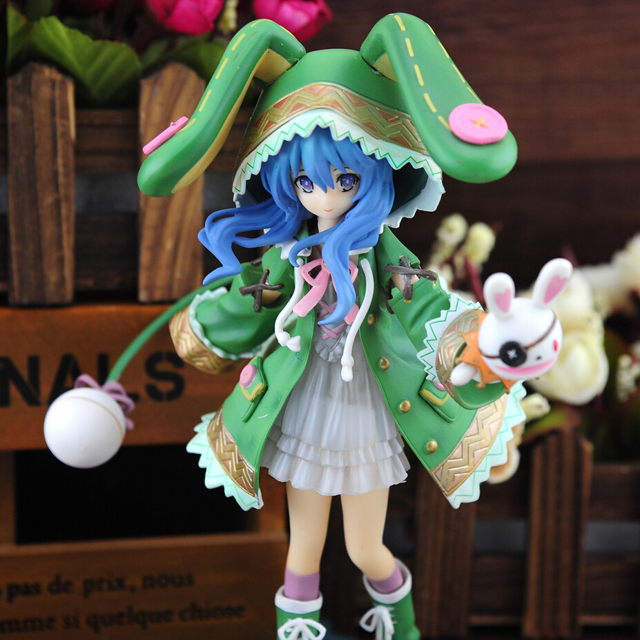 New Japan anime Hatsune Miku 20cm pvc action figure green hat rabbit stance four shito is collectible hand model doll figure toy japanese anime doll cute nendoroid hatsune miku mid autumn miku 539 pvc action figure model toy doll 4 10cm