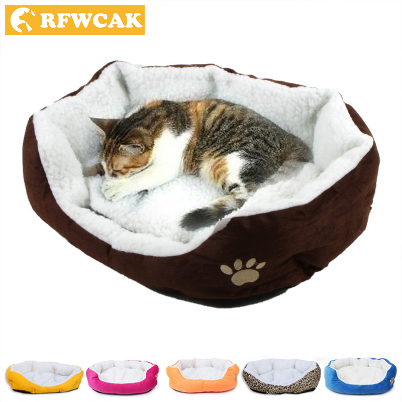 50 * 40cm Komfortabel og blød Kat Bed Mini House til Cat Pet Hund Sovesofa Gode produkter til Puppy Cat Pet Dog Supplies