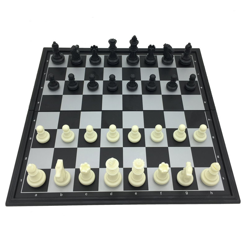 UB Size L chess set ajedrez Folding Magnetic King 81mm board size 36*36cm 2017 вокальный микрофон proaudio ub 81