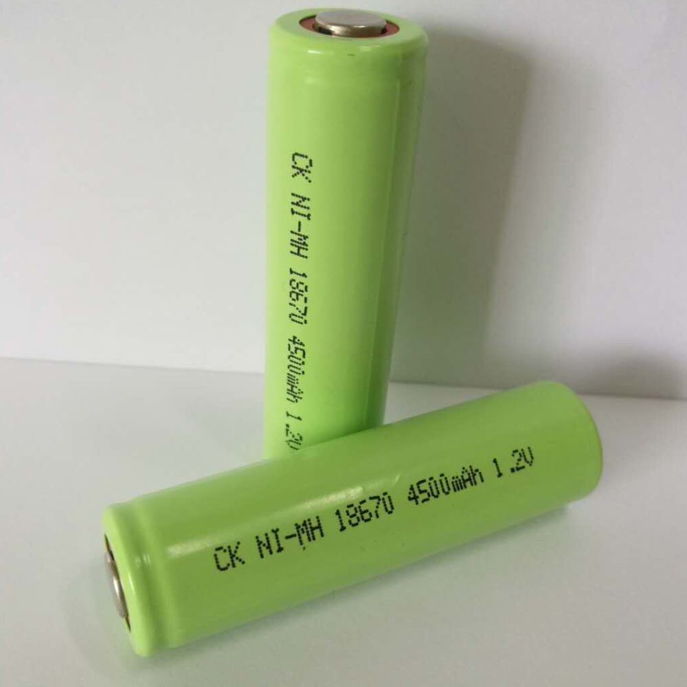 SORAVESS 10PCS 1.2V Ni-Mh 4/3A 18670 Rechargeable Battery Ni Mh 4500mAh Batteries Nickel Metal Hydride Battery Medical Equipment