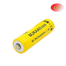 1 pcs AA Rechargeable Battery AA Ni-MH 1.2V 2300mAh Ni-MH 2A Bateria Rechargeable Batteries for Camera toys(China)