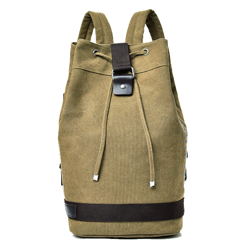 Hot Top Canvas Men\'S Sports Gym Bags Outdoor Basketball Backpack For Teenager Soccer Ball Pack Laptop Bag Training Fitness Bag