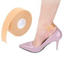 1Roll Anti Wear Foam Cotton Heel Sticker Tape Patch Blister Plaster Waterproof First Aid Blister Pedicure Pad Foot Care Insole