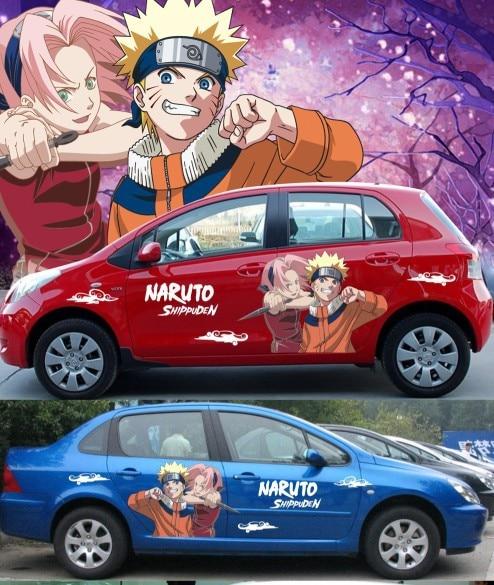 itasha 2 pieces ainme car sticker car sticker