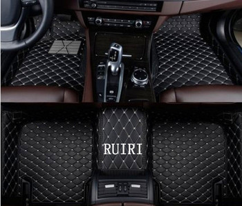 Best quality & Free shipping! Custom special floor mats for Honda Jazz 2018-2013 wear-resisting waterproof carpets for Jazz 2017