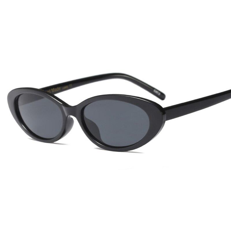 Cat Eye Oval Solglasögon för Women Vintage Design Frame Retro - Kläder tillbehör - Foto 2