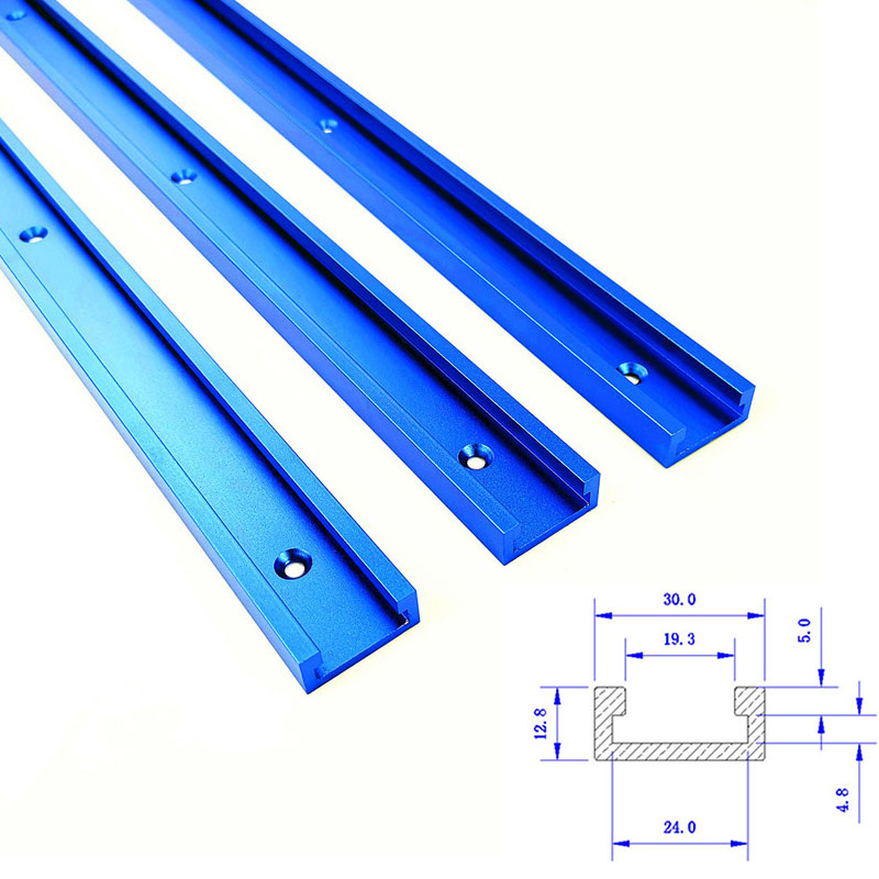 30 Type T-tracks Aluminum Slot Miter Track Jig Fixture For Router Table Bandsaws Woodworking Tool Length 300/400/600/800/1000mm