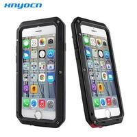 Luxury Doom Armor Dirt Shock Waterproof Metal Aluminum Cell Phone Case For Iphone SE 4 4S