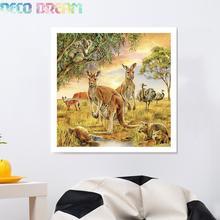 Diy Diamond Painting Native Australian Animals Full Embroidery Australias Beautiful Scenery Decorate Bedroom Good Gift