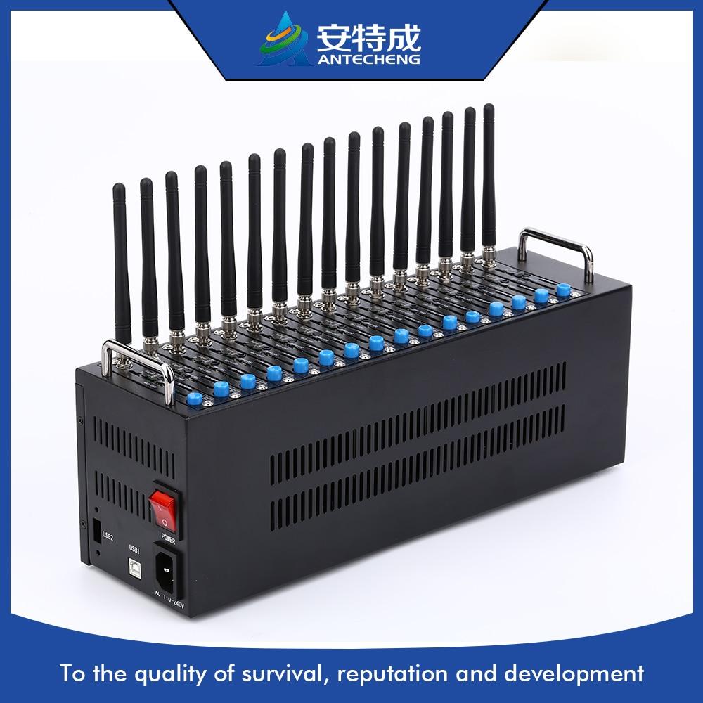 16 sim slot Simcom Sim7100 4G LTE modem 16 port gsm modem pool online transfer bulk sms software support gsm dongle and 4 8 16 32 64 ports gsm modem pool smsdelivere enterprise edition