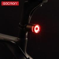 Gaciron Waterproof Bicycle Light USB Rechargeable LED Bike Taillights Cycling Bicycle Warning Light Lamp Clip Bike
