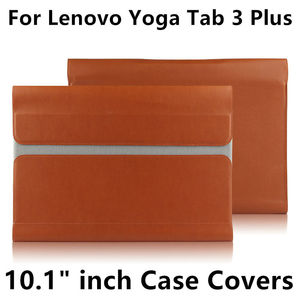 Image 1 - Case For Lenovo Yoga Tab 3 Plus 10 Protective Smart cover Leather Tablet For TAB3 Plus YT X703F X703 10.1 inch Protector Sleeve