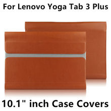 Case for lenovo yoga tab 3 più 10 di protezione smart cover Tablet in pelle Per TAB3 Più YT X703F X703 10.1 pollice Manicotto di Protezione