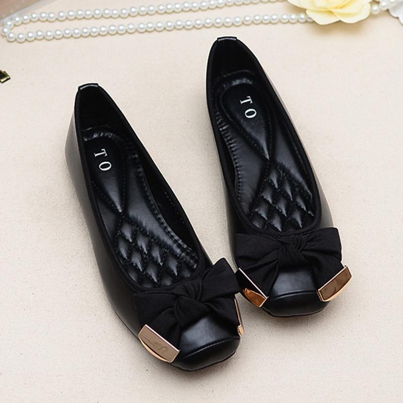 Chaussures Doux Mode Ol Femme Noeud Bouche or Noir Peu Écharpe Femmes gris D'été Mocassins Profonde Or Arc De Simples Porc Mariage rprqxIwC